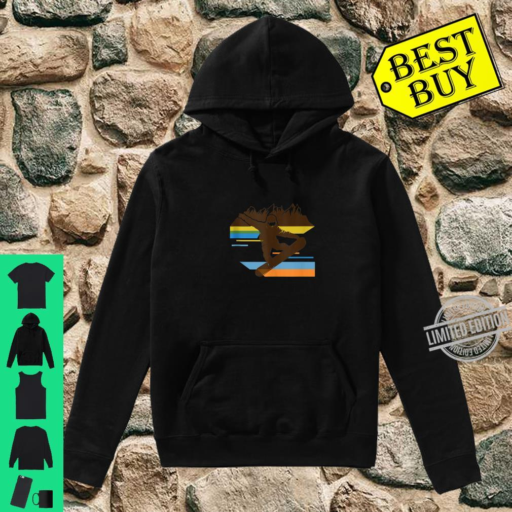 Cute Retro Snowboard Outfit 80s Gear Vintage 70s Shirt